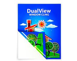 DualView Window Cling