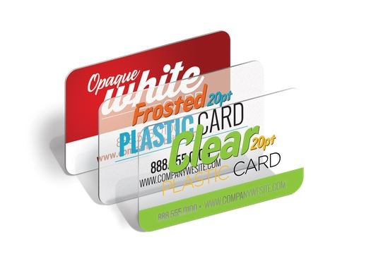 Plastic Cards Thin (20pt)