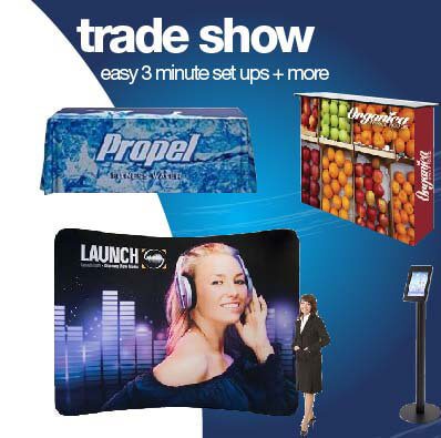 Trade Show Displays and Pop Up Printing