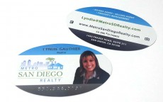 Business cards printing in san diego die cut cards 16pt reheart Choice Image